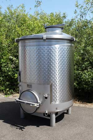 portable stainless steel wine tank